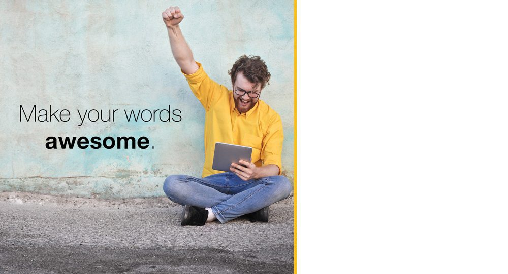make your words awesome