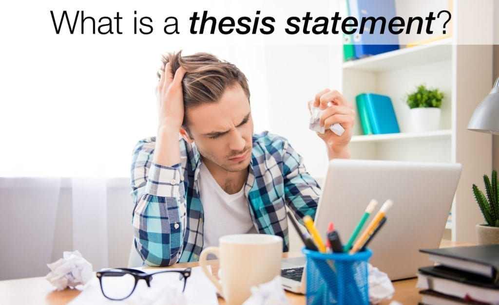 """Thesis Statement Basics: """"What is a Thesis?"""""""