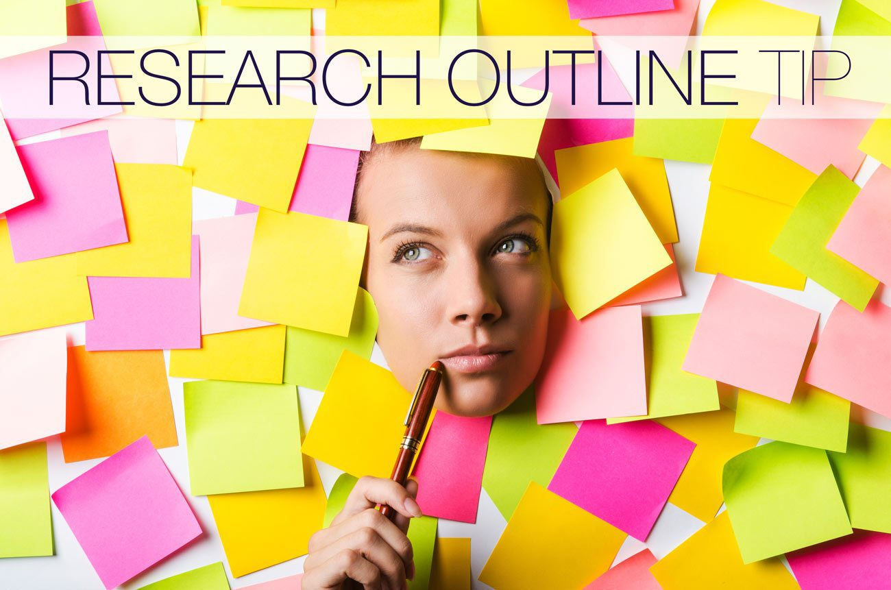 """Research Outline Tip: Think """"Square"""" Rather Than """"Line"""""""