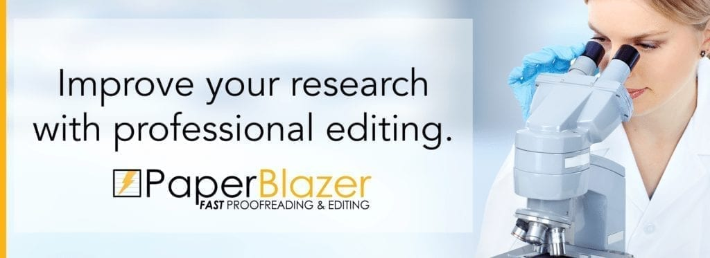 Proofreading & Editing for Scientific Research – #1 Online