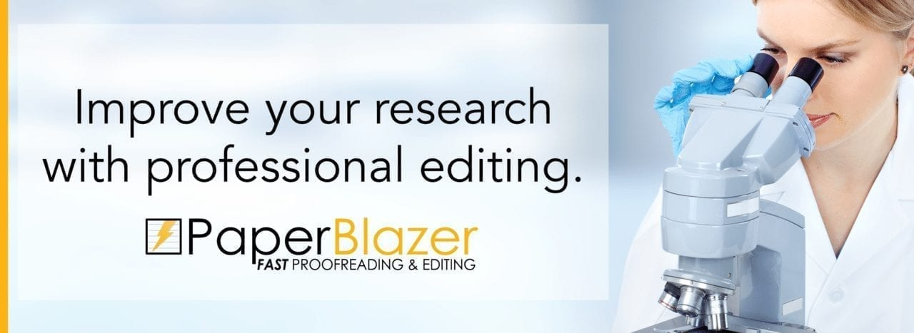 Scientific Research - proofreading and editing