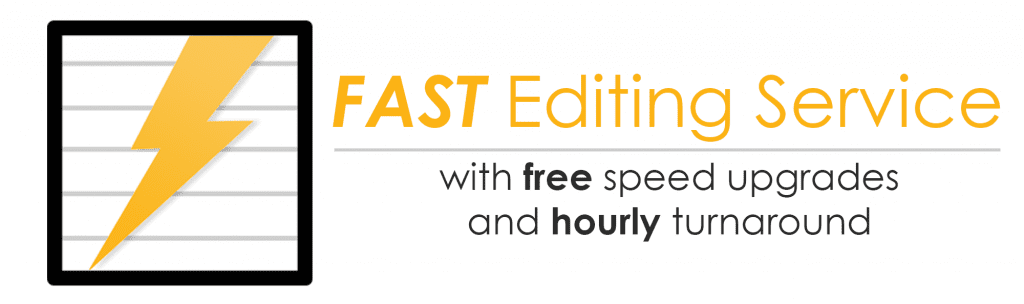 Fast Proofreading & Editing Service